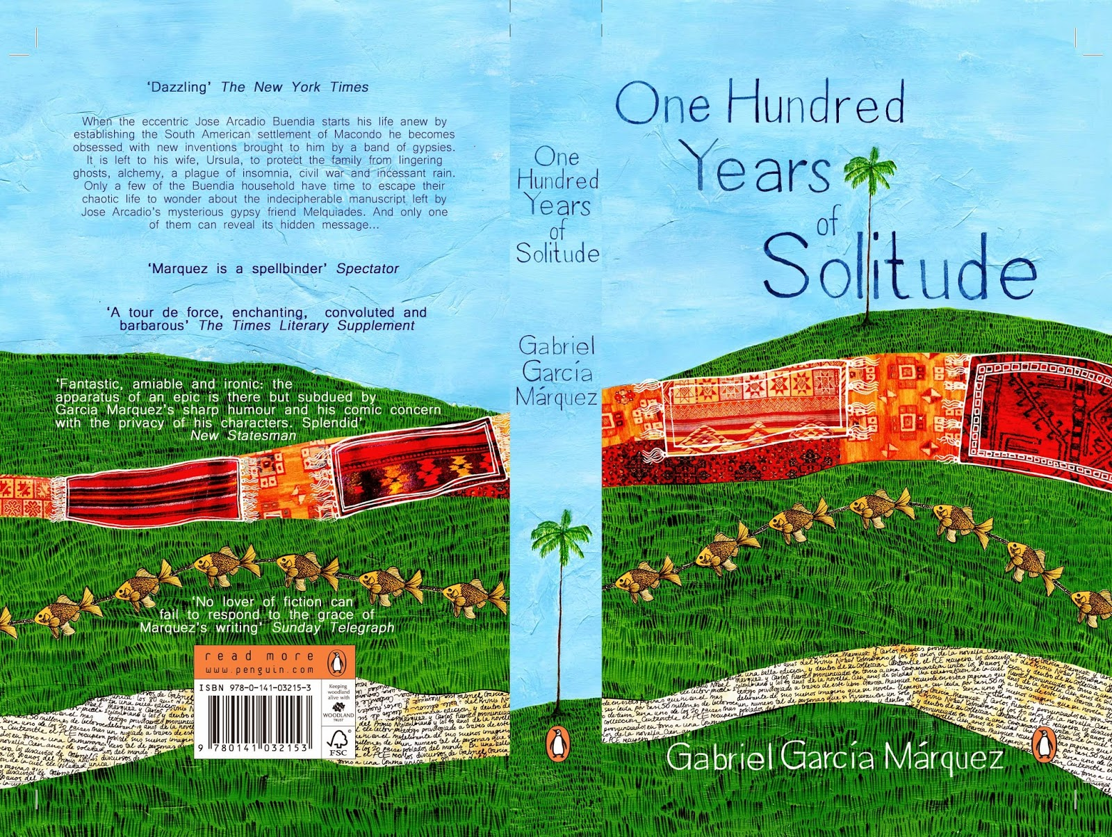 motif in one hundred years of García márquez started as a journalist, and wrote many acclaimed non-fiction works and short stories, but is best known for his novels, such as one hundred years of solitude (1967), the autumn of the patriarch (1975), and love in the time of cholera (1985.