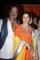 Shakti Kapoor and Shraddha Kapoor at Inauguration Of Pandit Padharinath Kolhapure Marg Exclusive  16.JPG