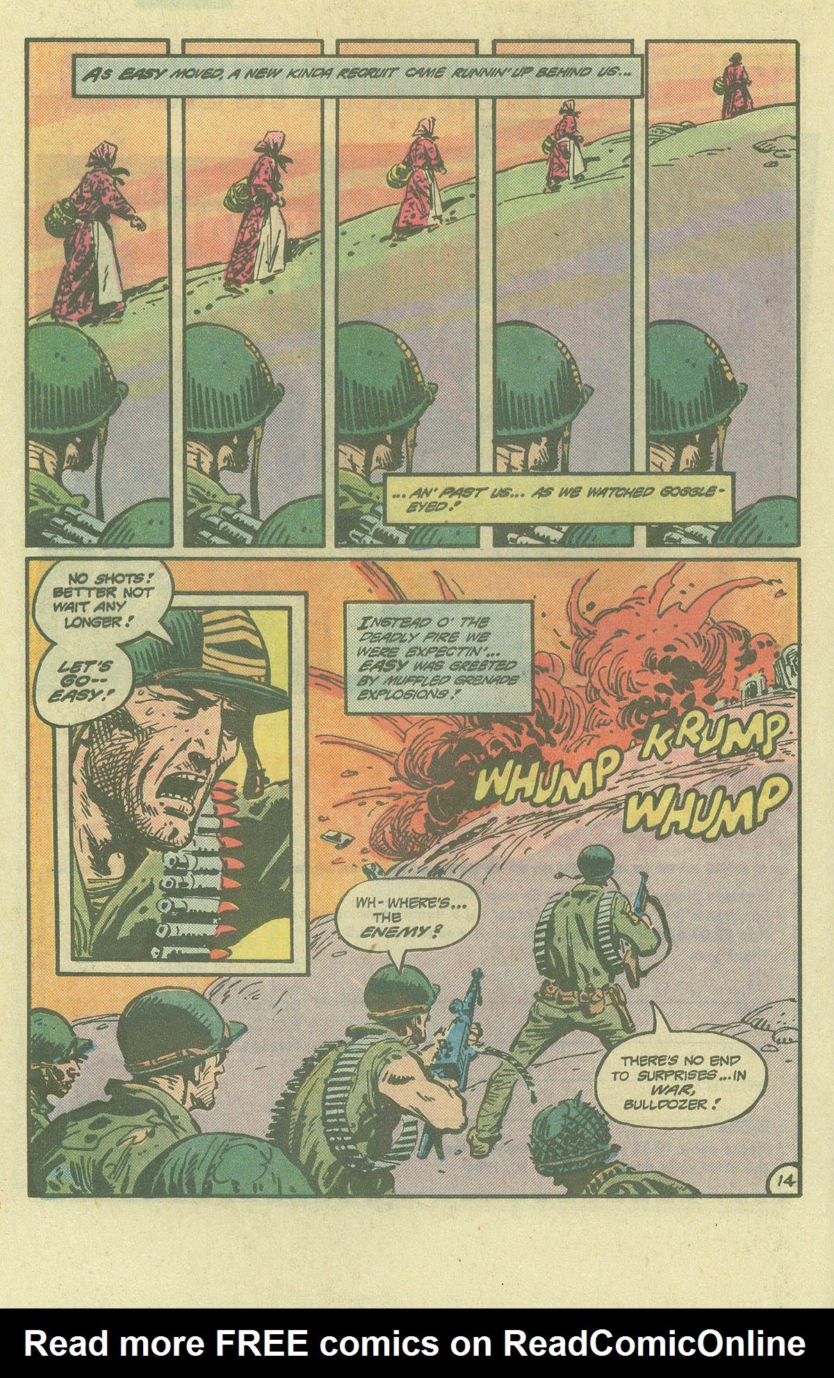 Read online Sgt. Rock comic -  Issue #393 - 14