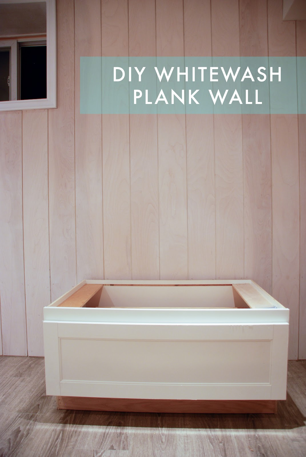 Part II: DIY Whitewashed Plank Walls
