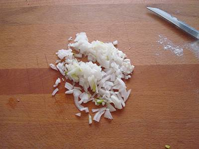 Torta salata con pisellini e prosciutto 4