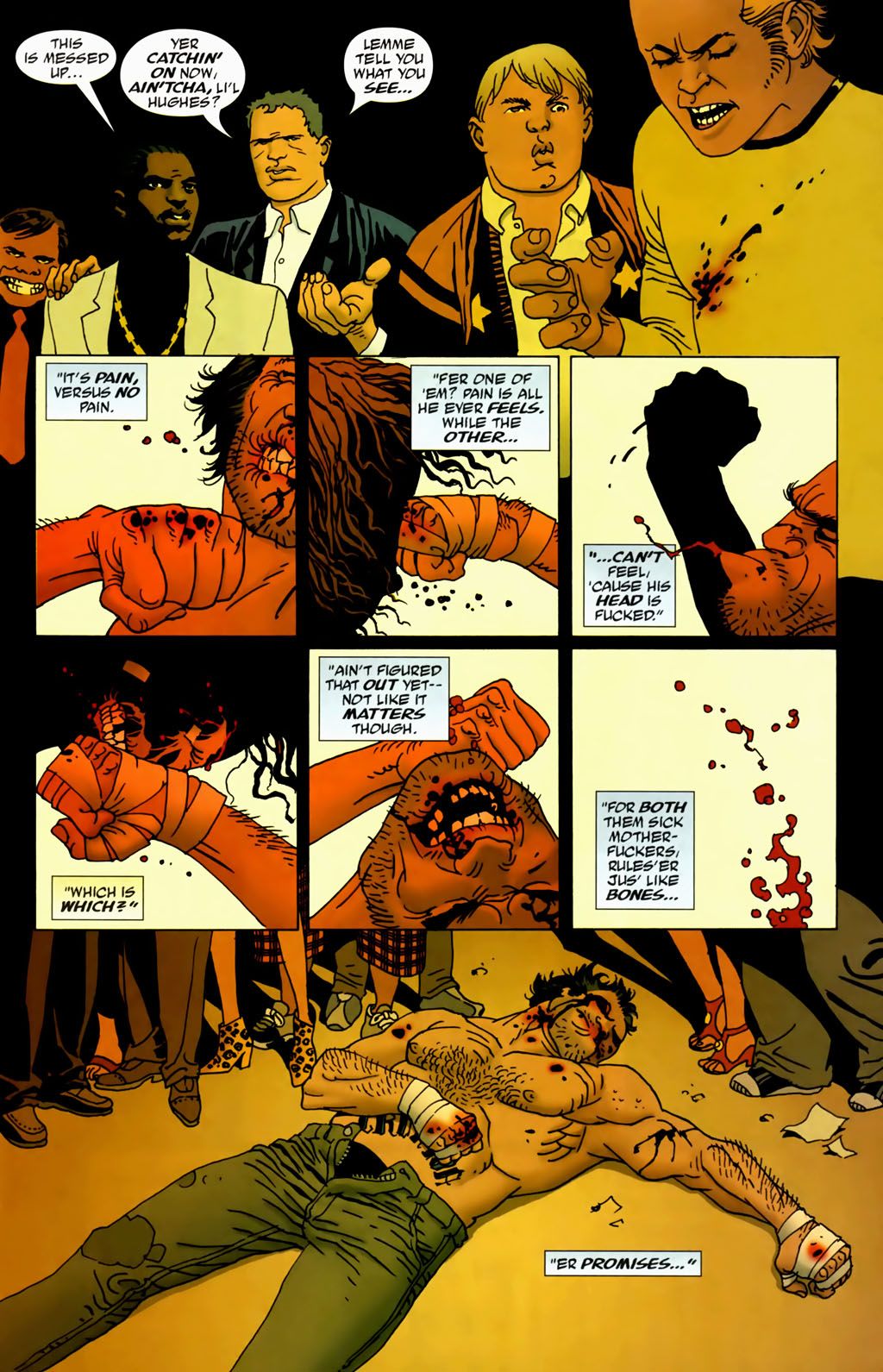 Read online 100 Bullets comic -  Issue #69 - 19