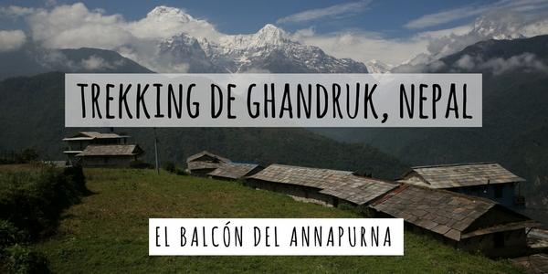Trekking de Ghandruk, Nepal
