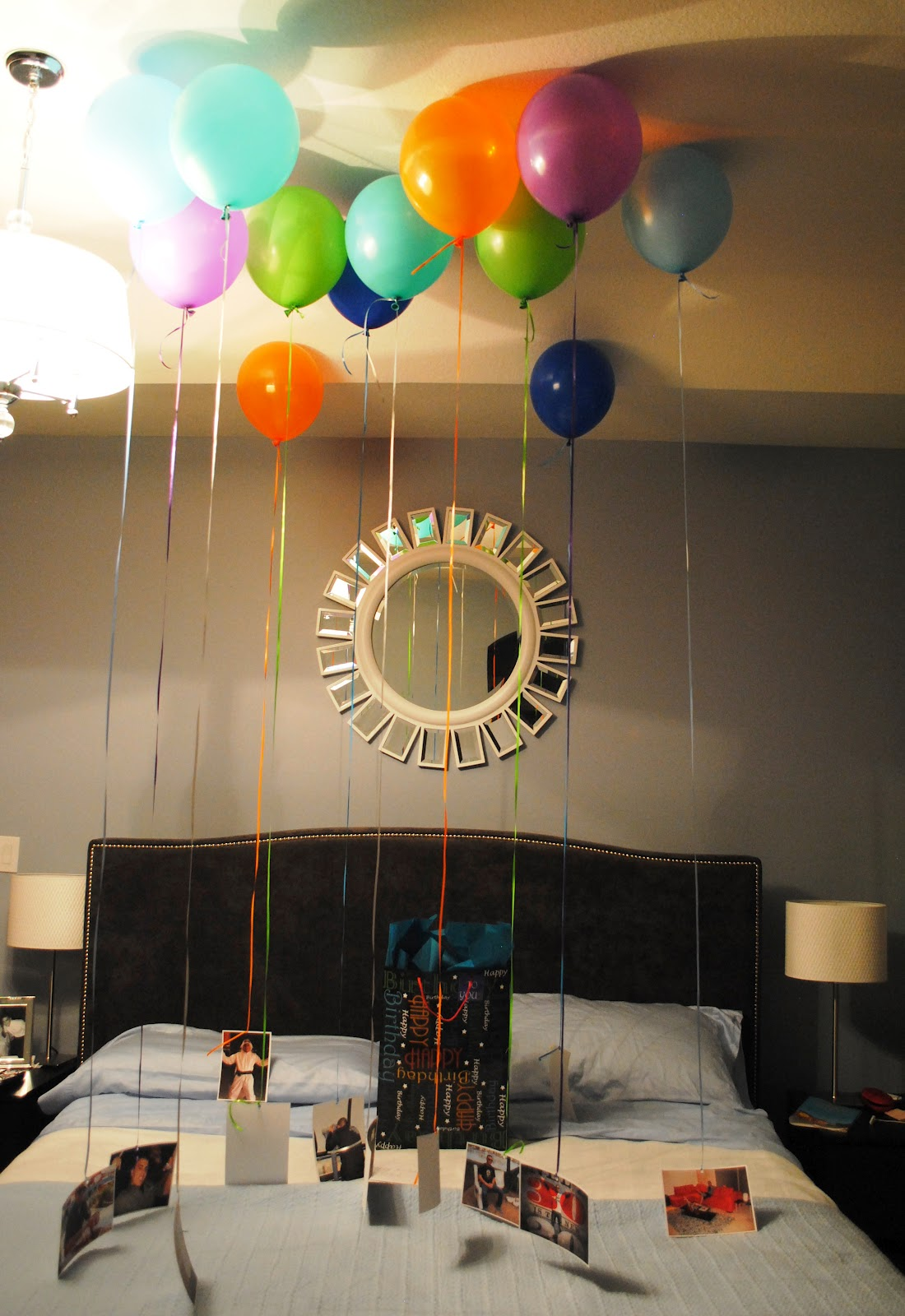 Mind My Beeswax: Hubby's Birthday and a Pinterest Idea