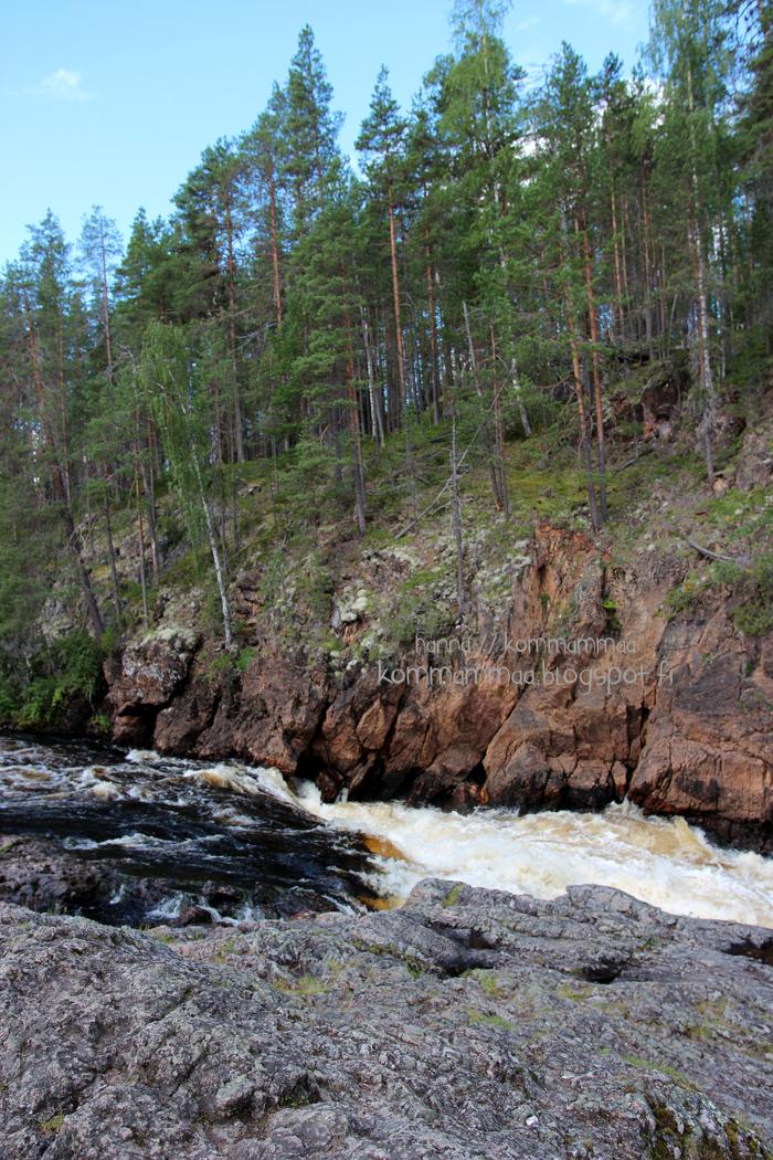 kiutaköngäs kuusamo käylä oulanka kansallispuisto koski