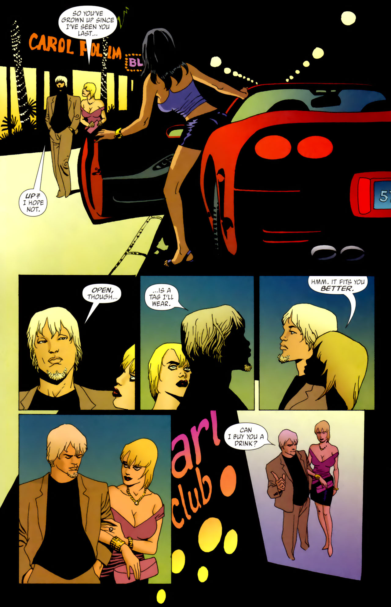 Read online 100 Bullets comic -  Issue #61 - 10