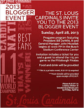 2013 St. Louis Cardinals Blogger Event