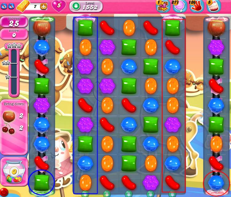 Candy Crush Saga 1552