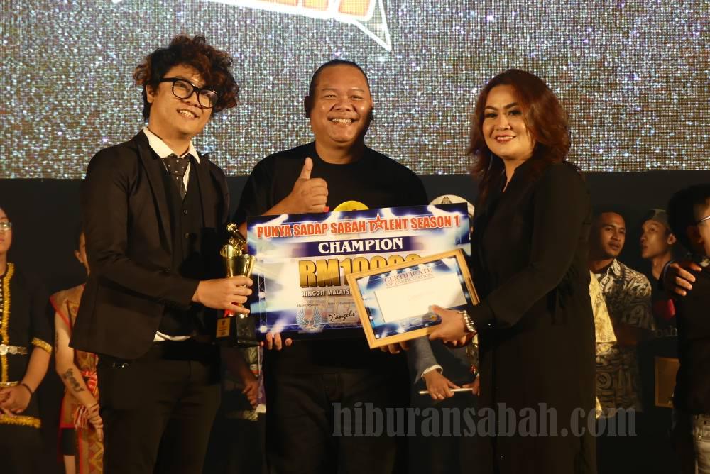Nick Arddley Juara Punya Sadap Sabah Talent 2017 Season 1