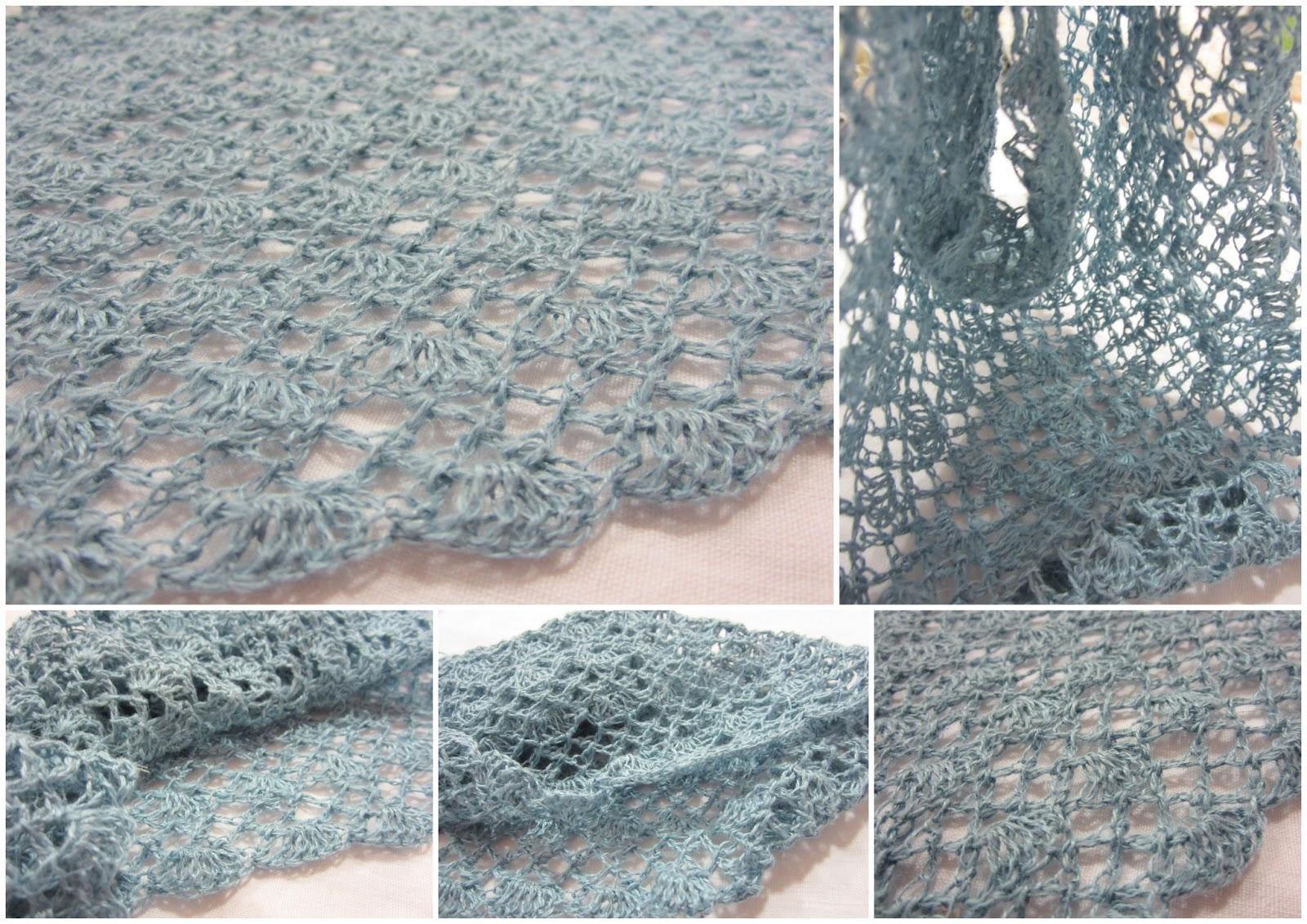 Mes Favoris Tricot Crochet Modèle Gratuit Un Châle Aérien