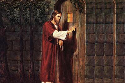 Jesus en la puerta