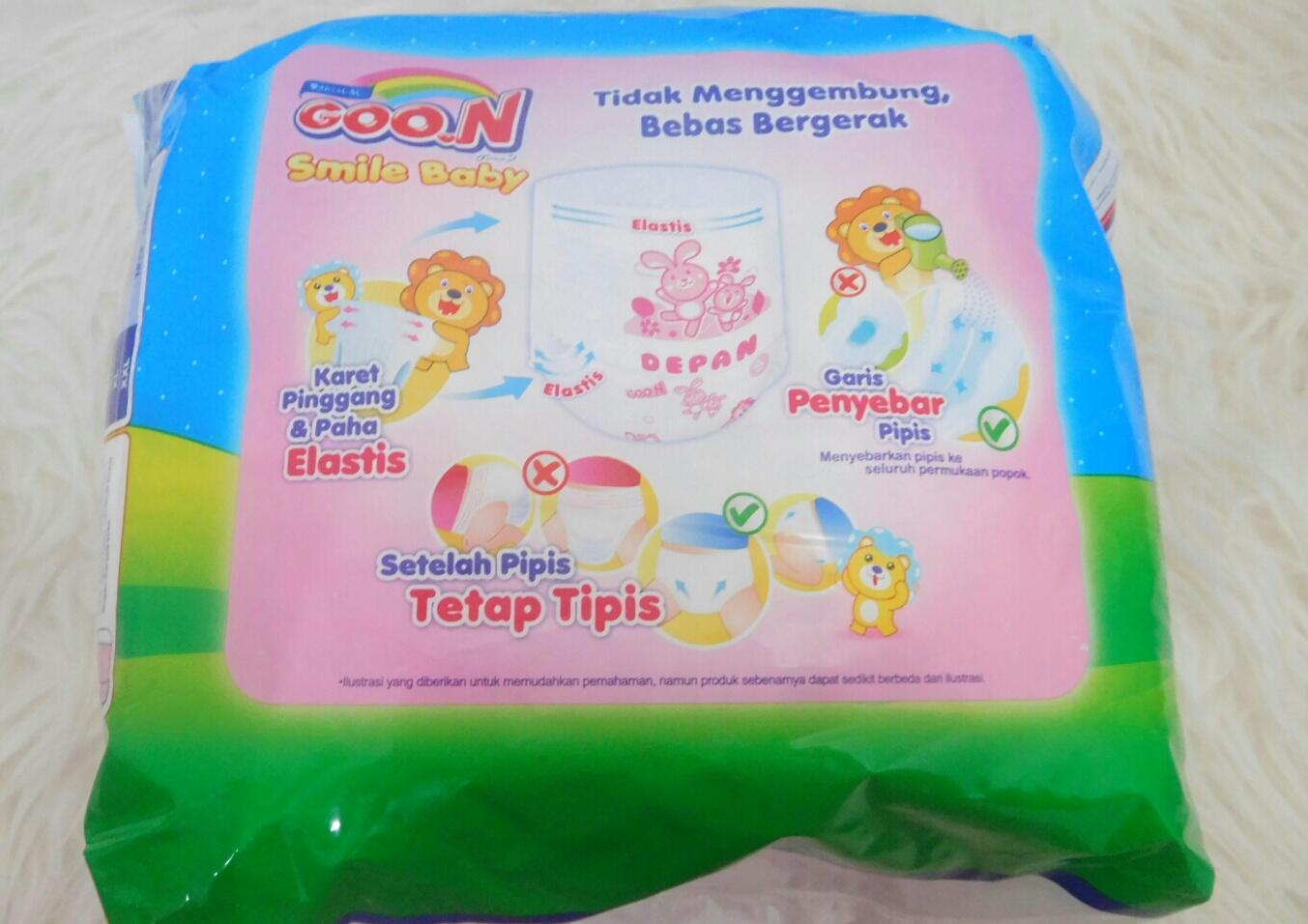 Review Diaper Goon Premium Dan Ekonomis Smile Baby Pants L30 Pas Sampai Rumah Langsung Browsing Kemasan Wonderline Itu Yang Kayak Saya Beli Apa Bukan Ternyataa Fix Keluaran Lama