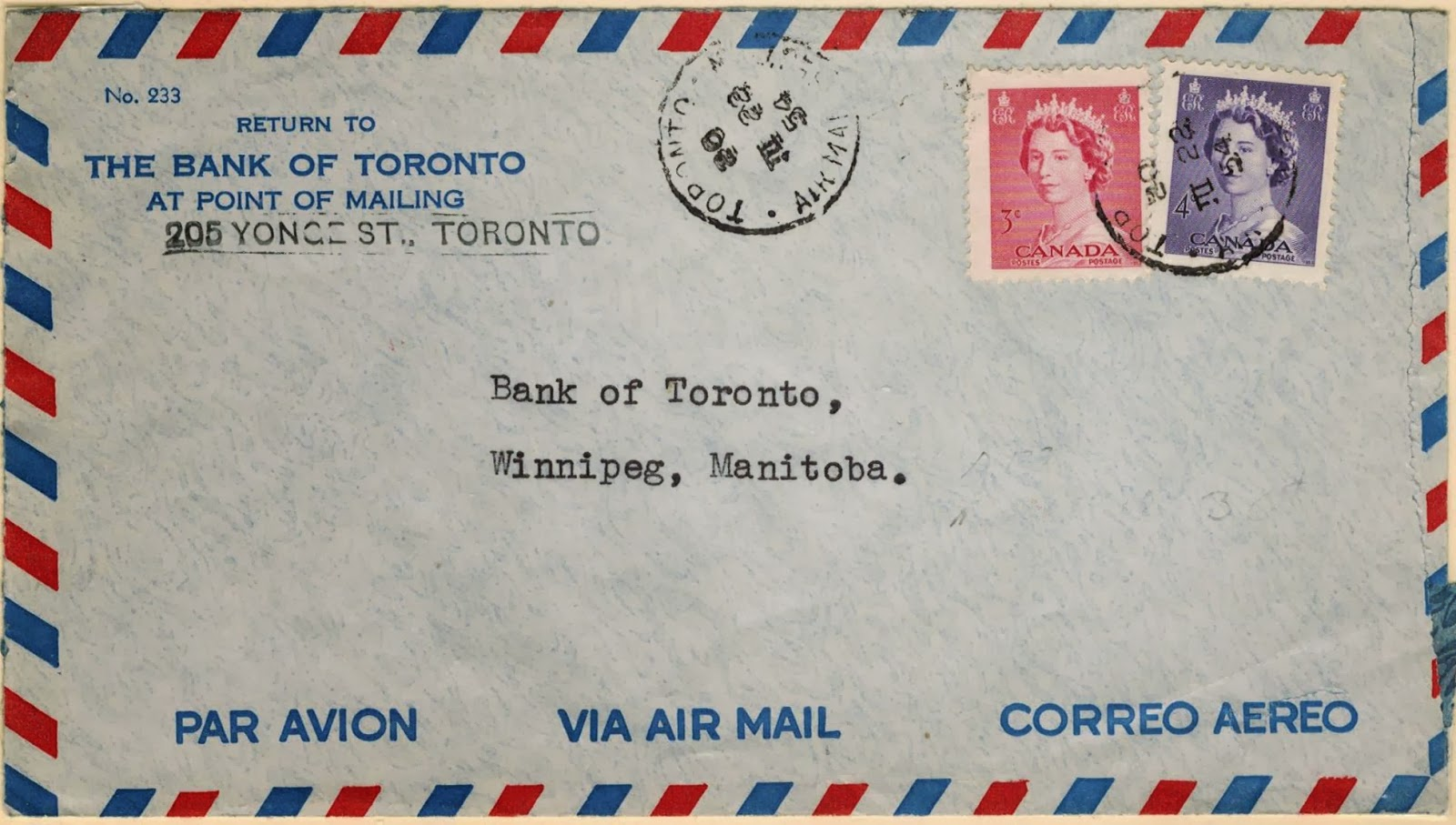 Postal History Corner 5 Canadian Domestic Air Mail Rates