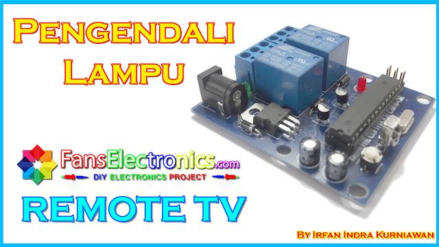 Project Pengendali Lampu Menggunakan Remote TV dan Arduino
