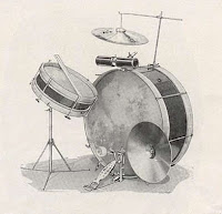 Drum set Ludwig, 1918