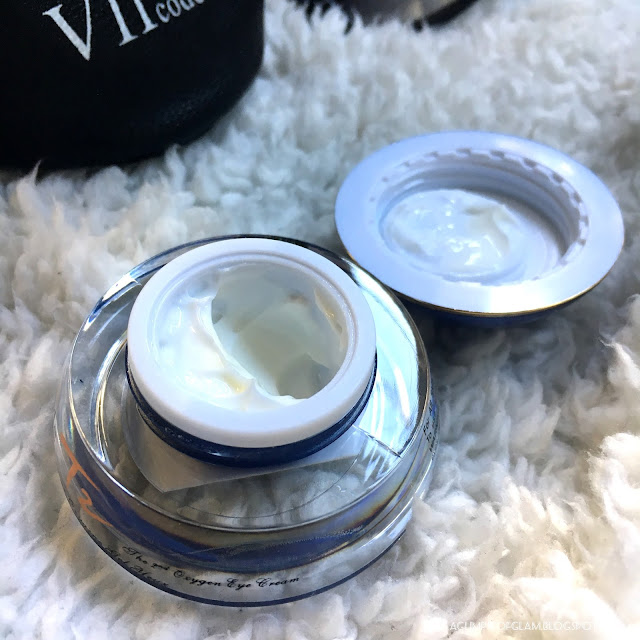 A Glimpse of Glam, VIICode Oxygen Eye Cream, Eye Cream, VIICode, VIICode Review, Product Review, Giveaway, Skincare, Andrea Tiffany