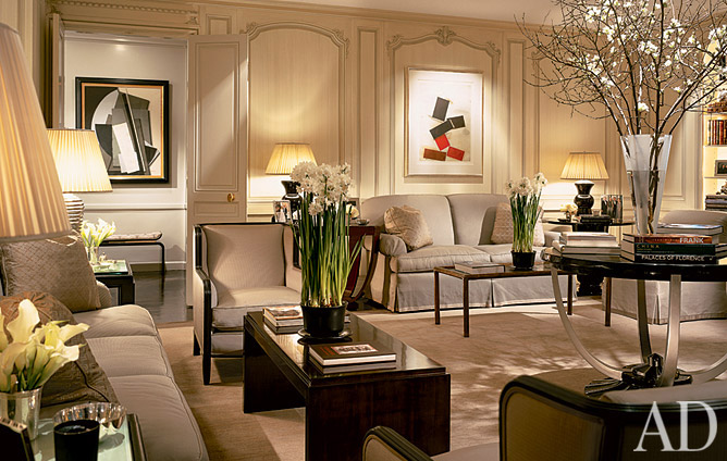 New home interior design deco deluxe - Art deco living room ...