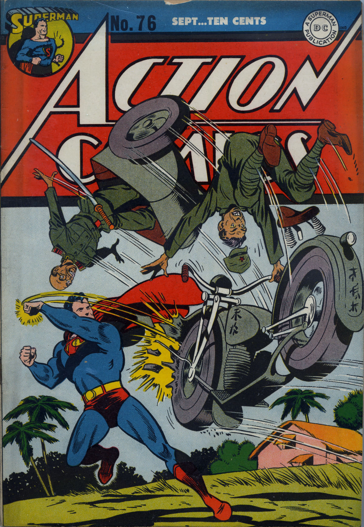Read online Action Comics (1938) comic -  Issue #76 - 2