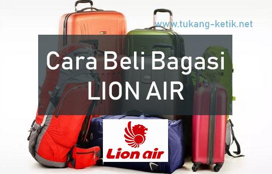 harga bagasi lion air