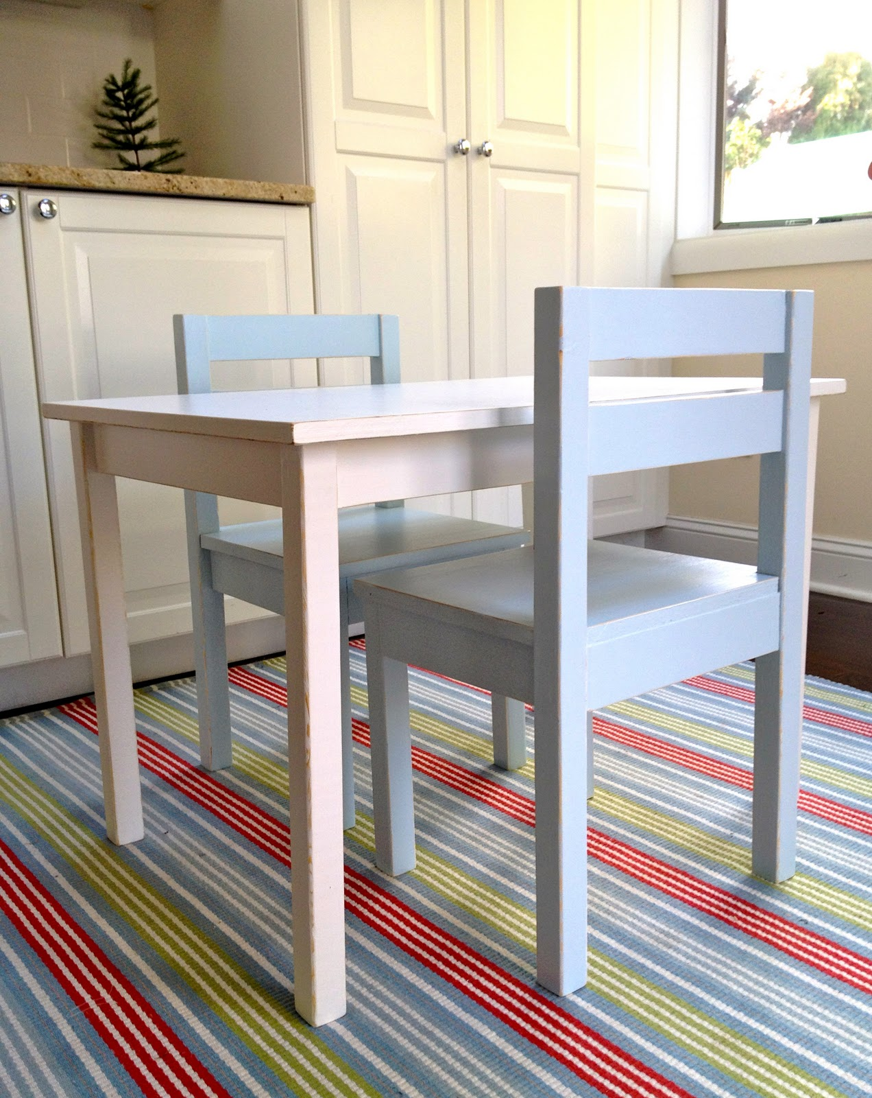 Diy Kids Table With Chairs Jaime Costiglio