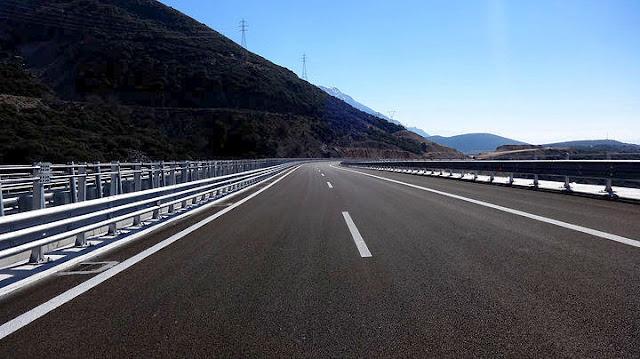 Στους Νομούς με υποτυπώδες δίκτυο κλειστών αυτοκινητόδρομων η Αργολίδα