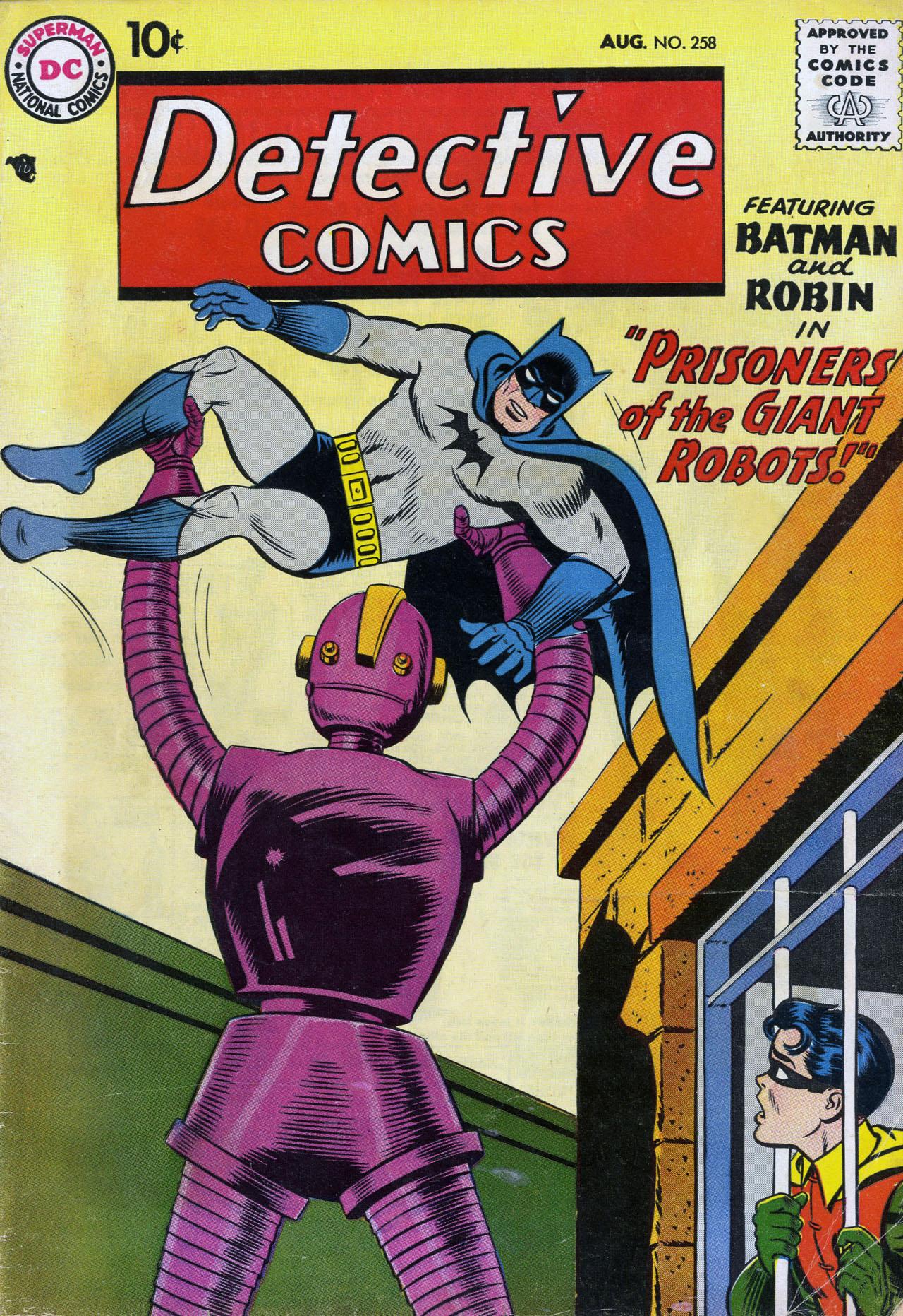 Read online Detective Comics (1937) comic -  Issue #258 - 1