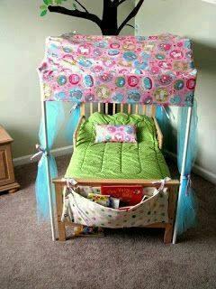 Ideas con tubos de PVC - cama para niños