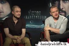 Updated(5): Victor Frankenstein press junket interviews (Mexico)