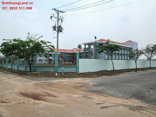 Bán lô K23 Mỹ Phước 3 hướng Bắc ngay sát cổng trường học