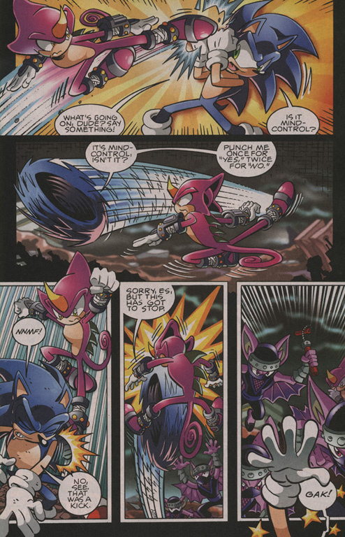 Read online Sonic The Hedgehog comic -  Issue #202 - 12