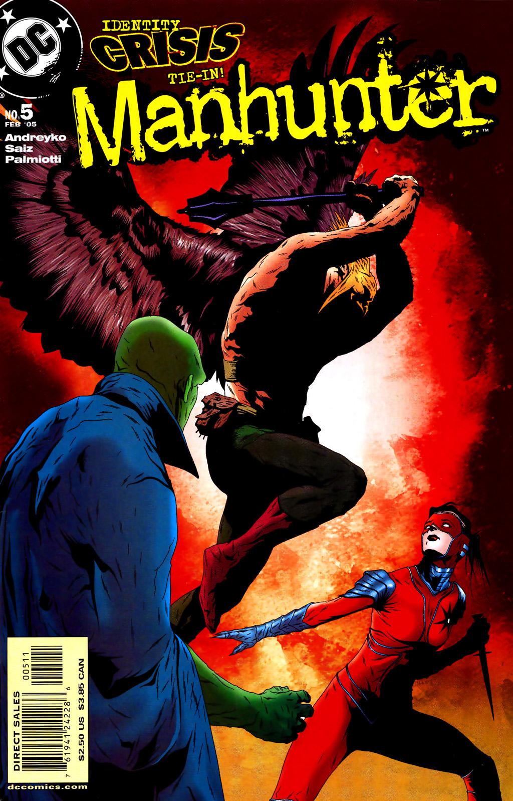Manhunter (2004) issue 5 - Page 1