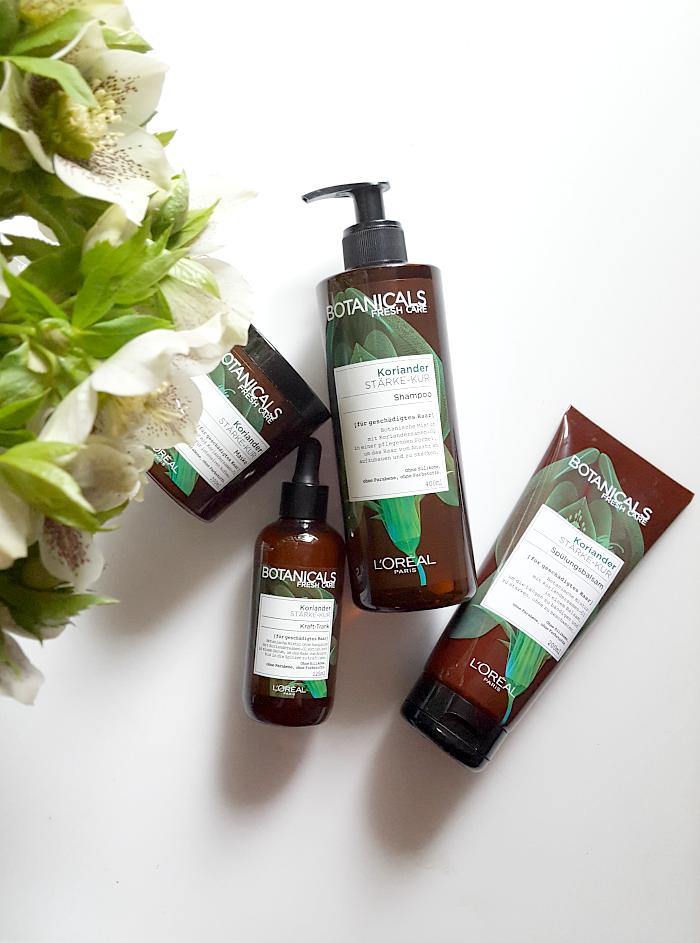 Botanicals Fresh Care - Koriander Stärke-Kur Premium-Haarpflege in der Drogerie