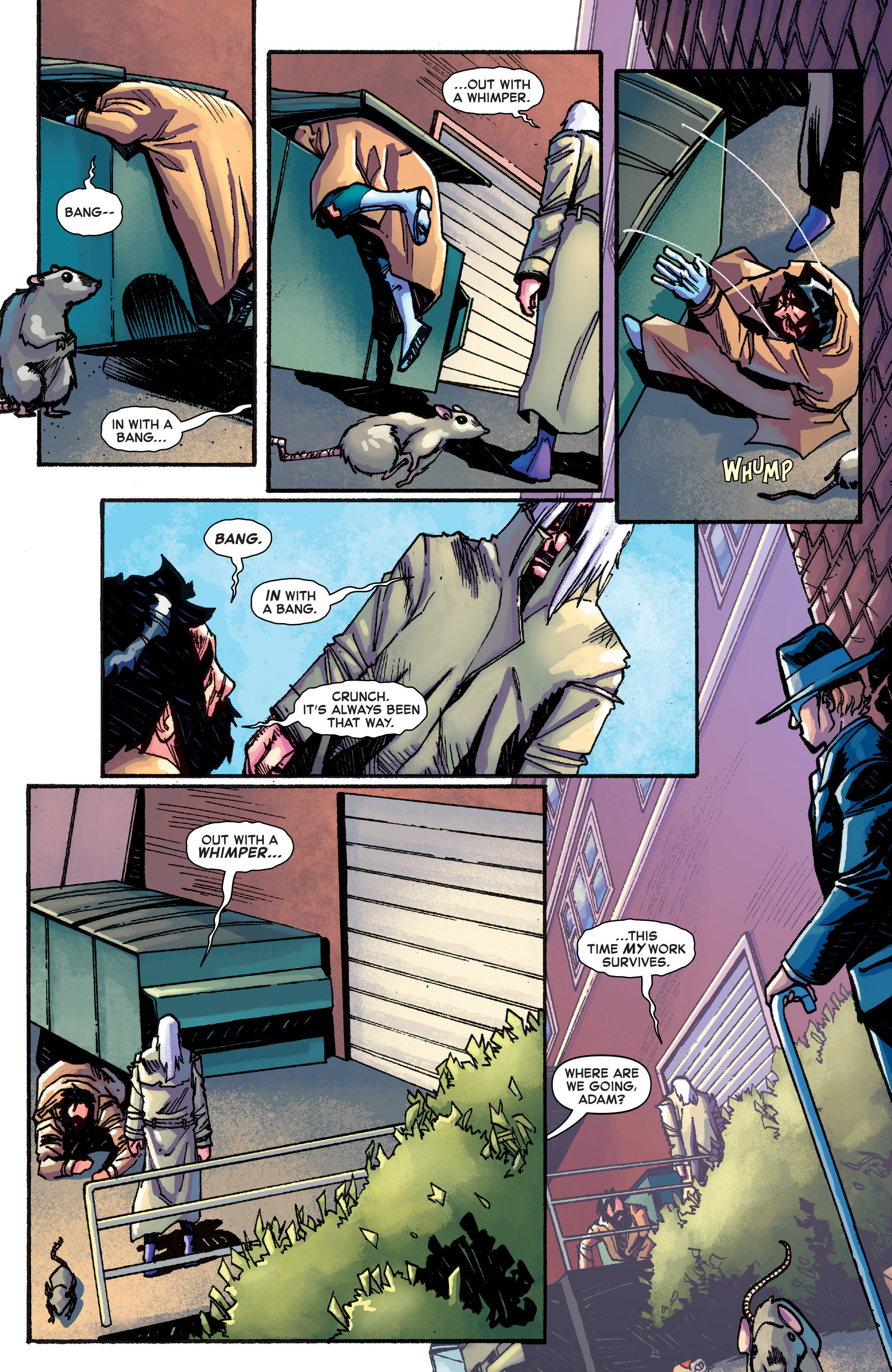 Read online Starbrand & Nightmask comic -  Issue #1 - 16