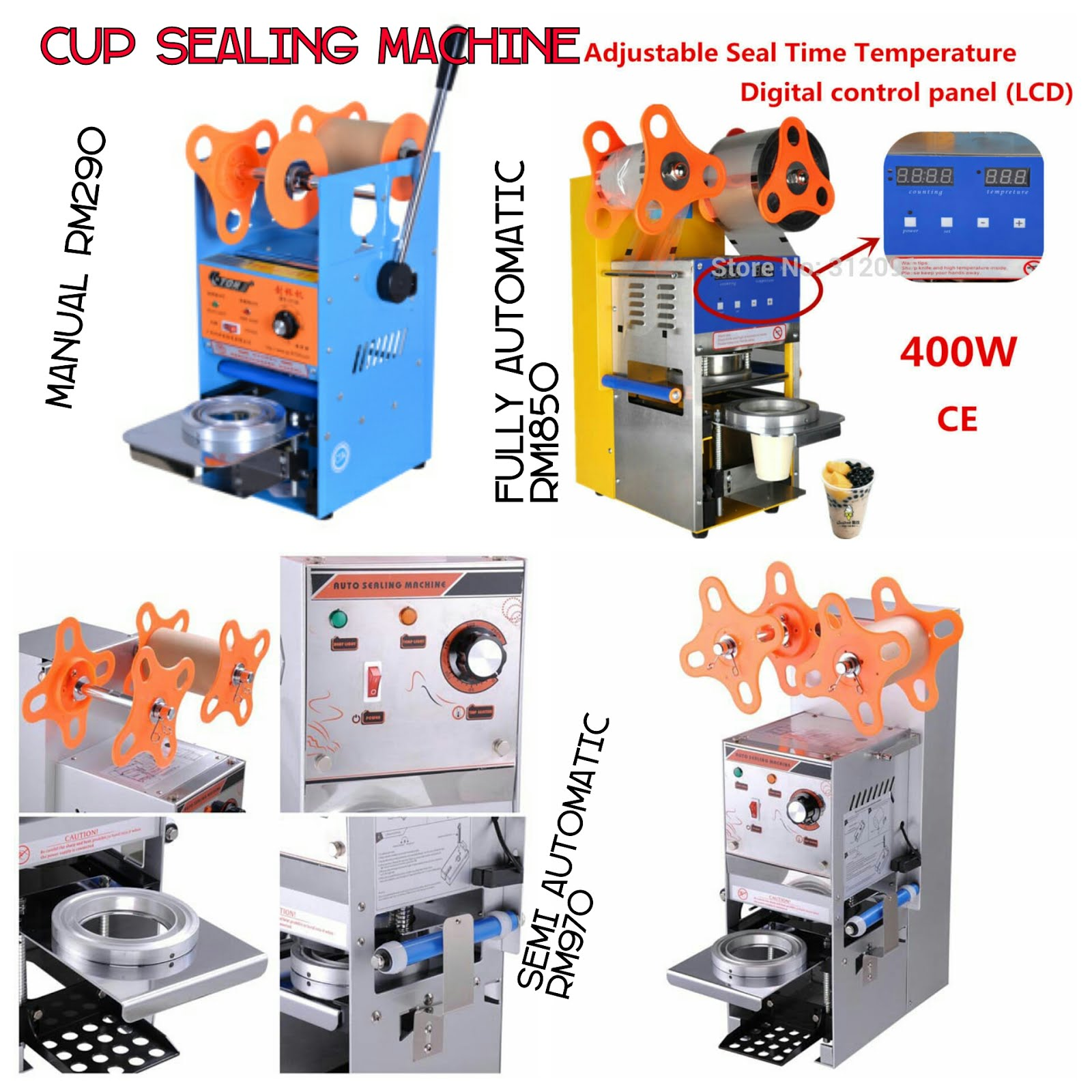 Kateloq Cup Sealer Machine