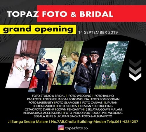 Topaz Foto and Bridal