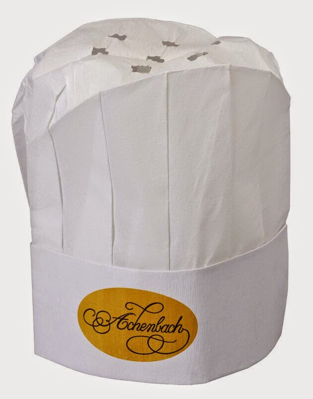fabriquer une toque de cuisinier en papier crepon po le cuisine inox. Black Bedroom Furniture Sets. Home Design Ideas