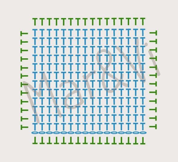 Patrón cesta trapillo