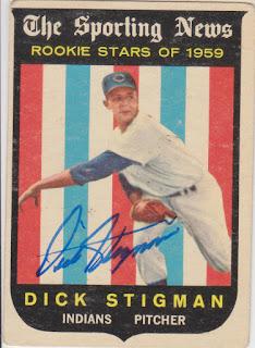 1959 Topps, Dick Stigman