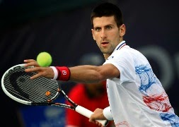tennis star player Novak Djokovic