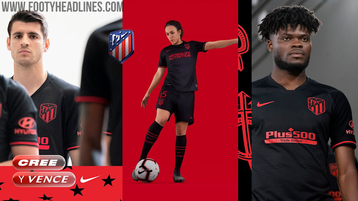 Atletico Madrid 19 20 Away Kit Released Footy Headlines