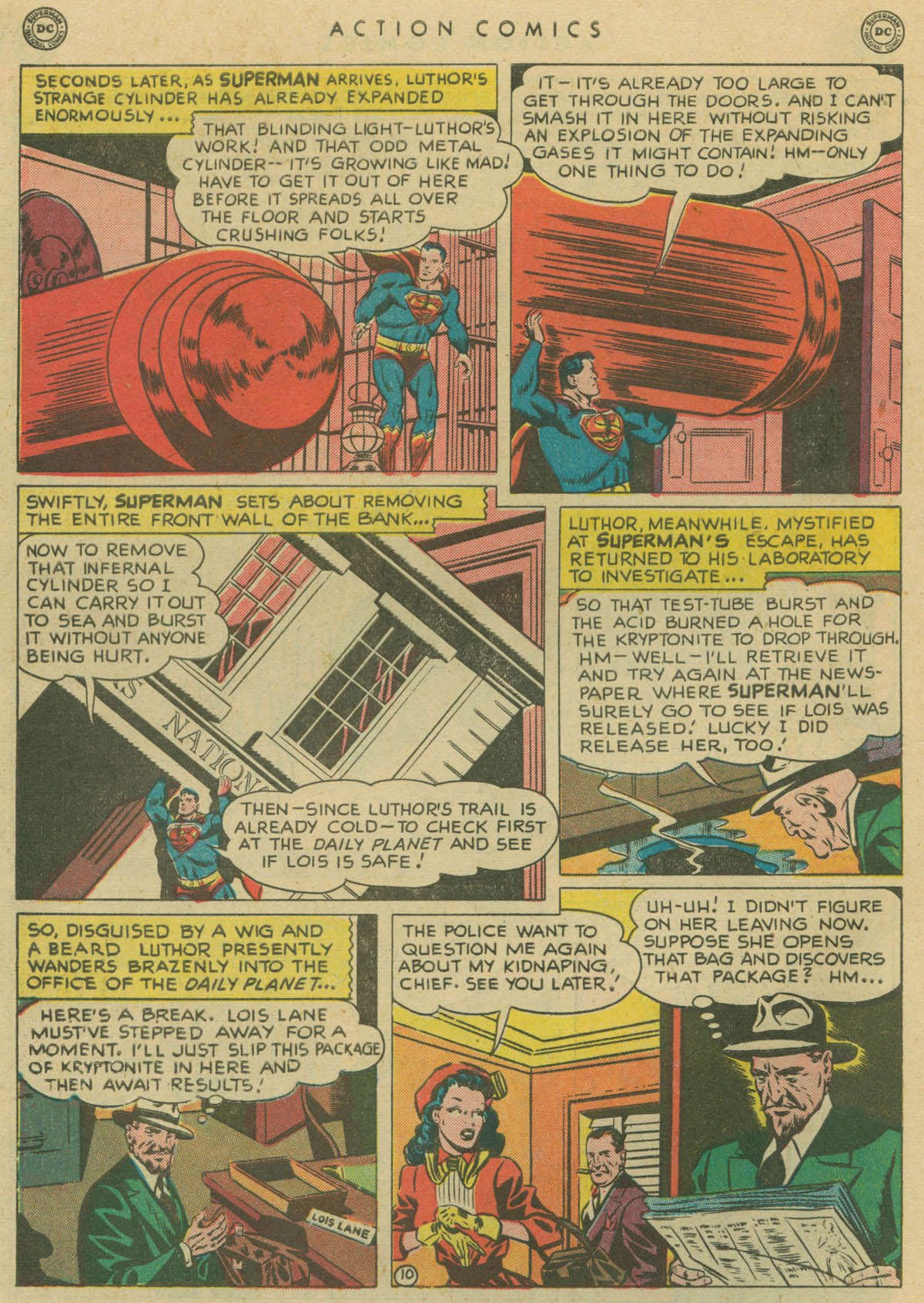 Read online Action Comics (1938) comic -  Issue #141 - 11