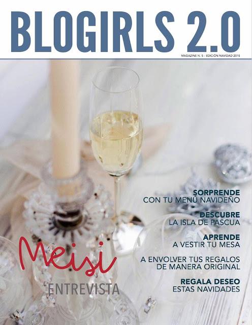 Revista Blogirls especial Navidad