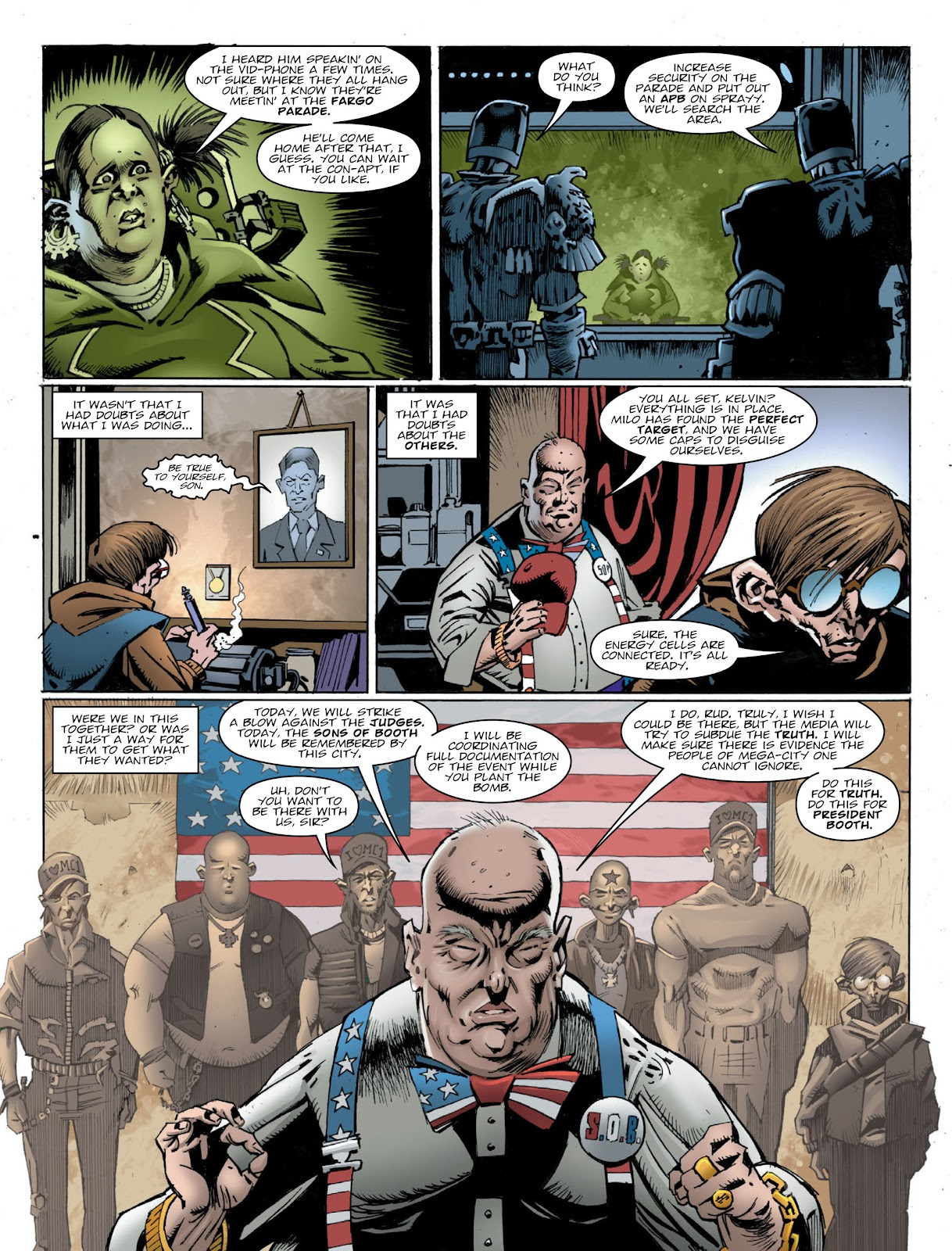 Read online 2000 AD comic -  Issue #2032 - 5
