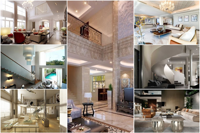 Indoor decorations for villas and palaces