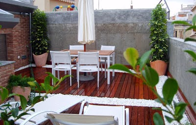 decoración de terraza