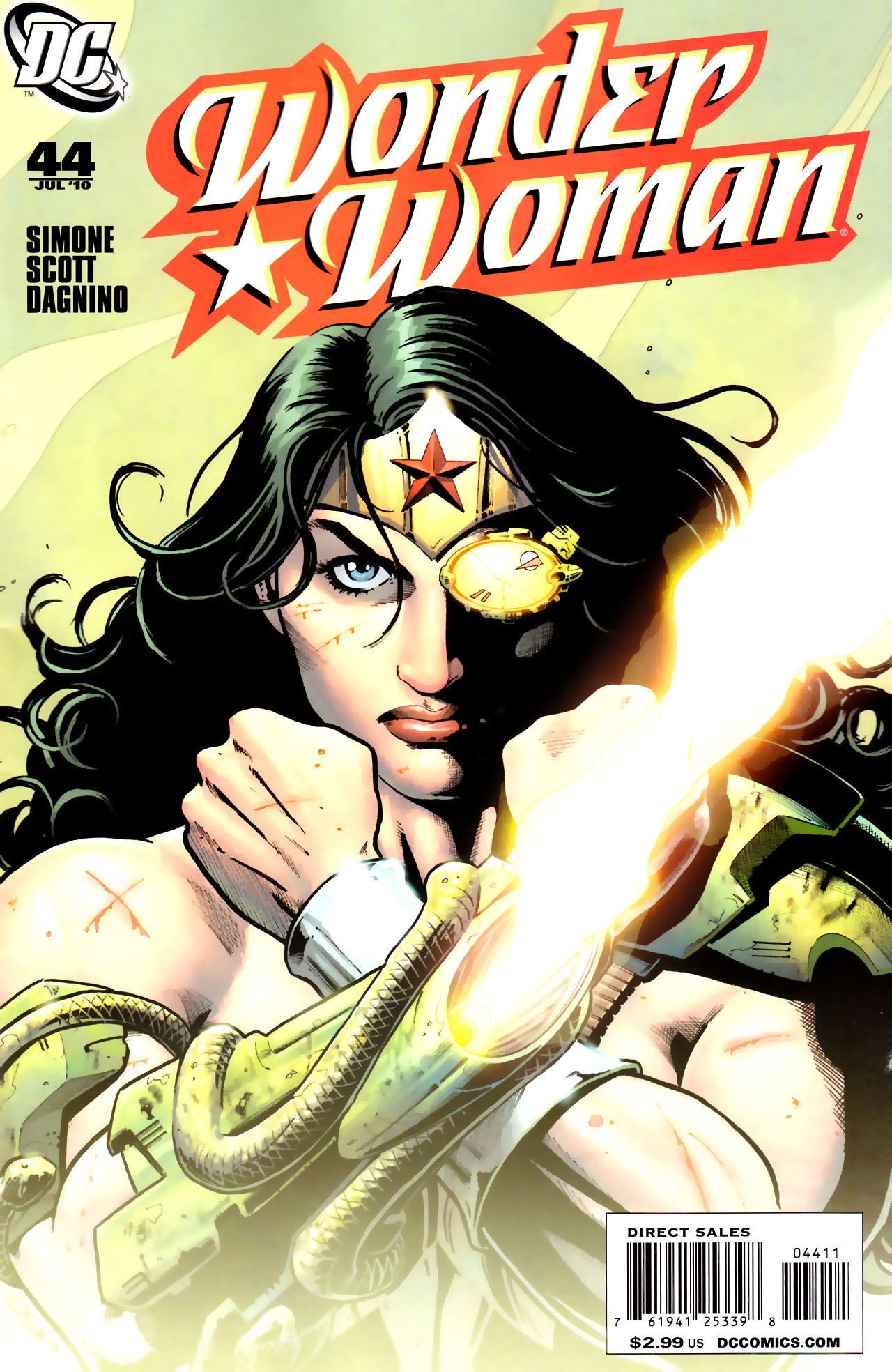 Read online Wonder Woman (2006) comic -  Issue #44 - 1