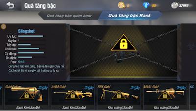 Hướng dẫn chế độ đấu rank truy kích mobile