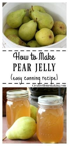 How To Can Pear Jelly
