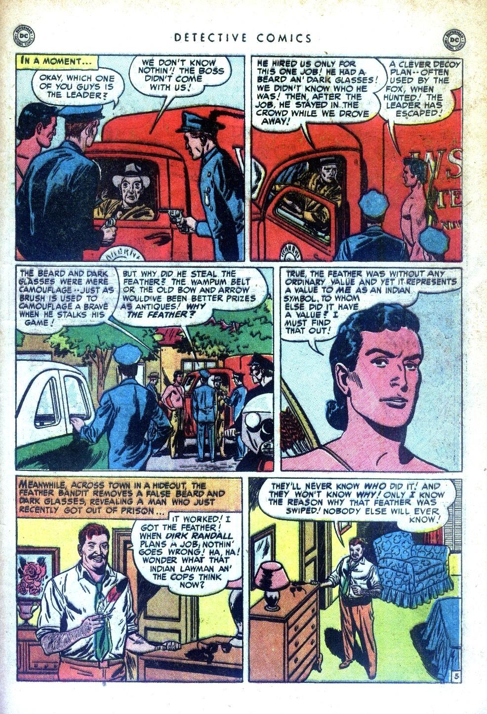 Read online Detective Comics (1937) comic -  Issue #169 - 43