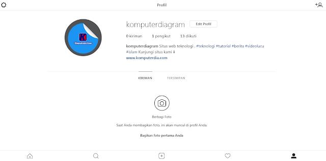 Cara Membuka dan Menggunakan Akun Instagram di Laptop atau Komputer Tanpa Aplikasi